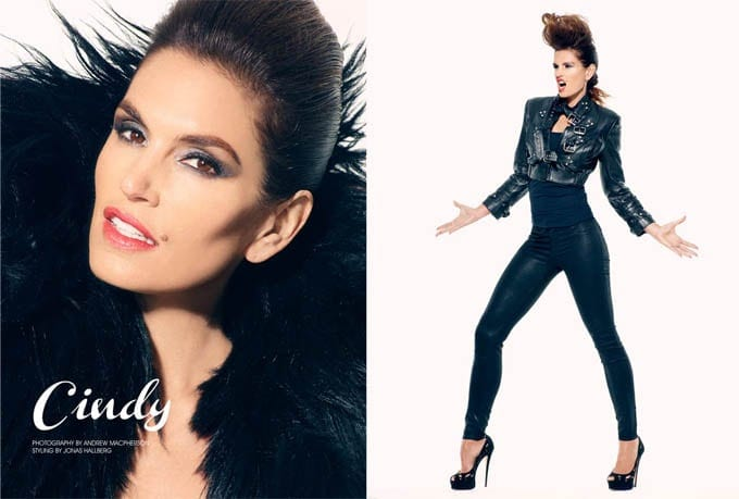 Cindy Crawford for FashionGoneRogue -super-models, photo-shoots, Cindy Crawford