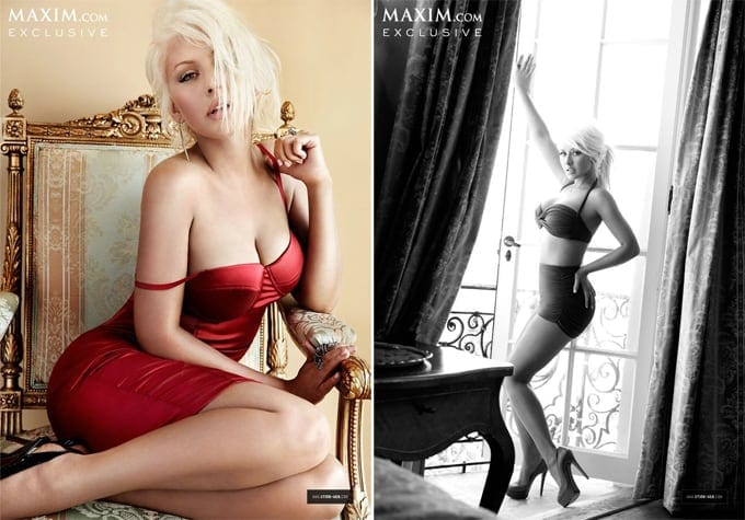 Christina Aguilera for Maxim 2013 -singer, photo-shoots, photo-series