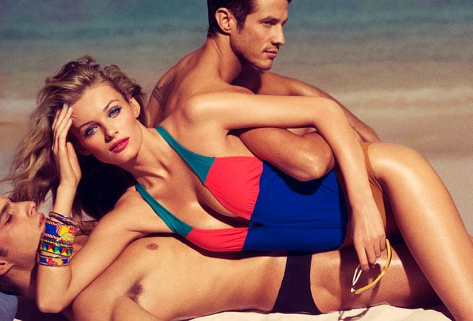 Allure retro beach photo-shoot -photo-shoots, models, Edita Vilkeviciute