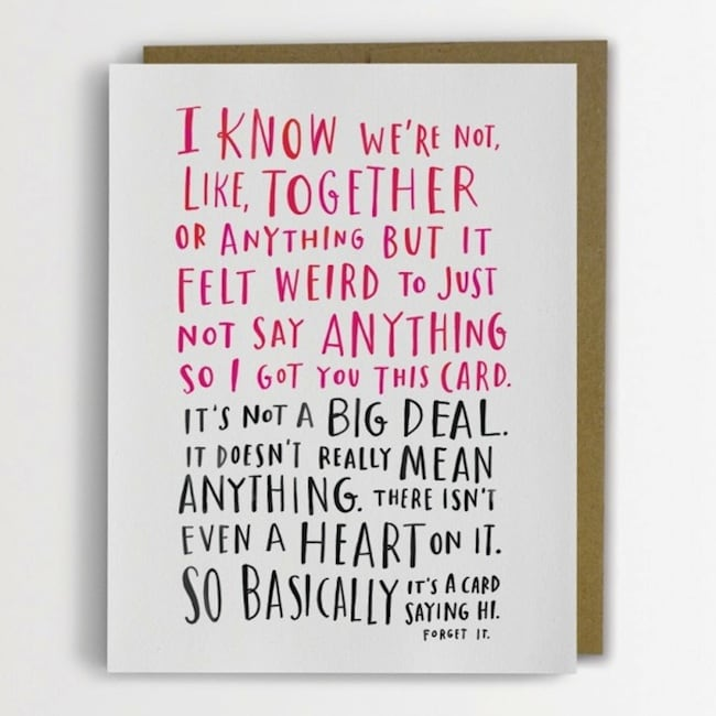 Funny Awkward Greeting Cards by Emily McDowell -quotes