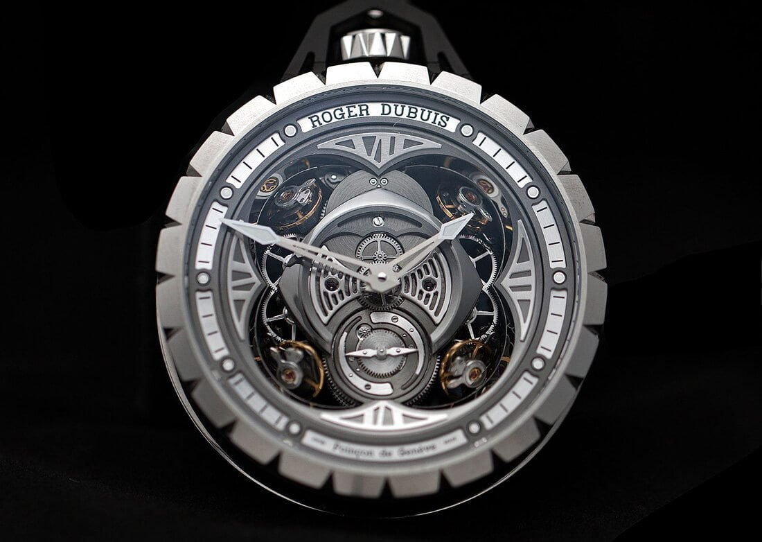 Excalibur Spider Pocket Time Instrument by Roger Dubuis -watch