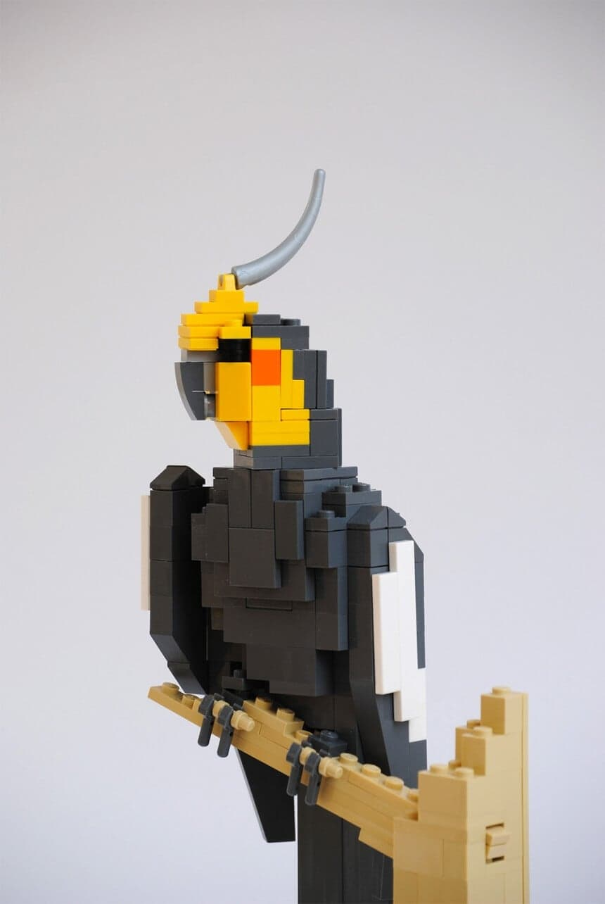 LEGO animals by German artist Felix Jaensch -lego