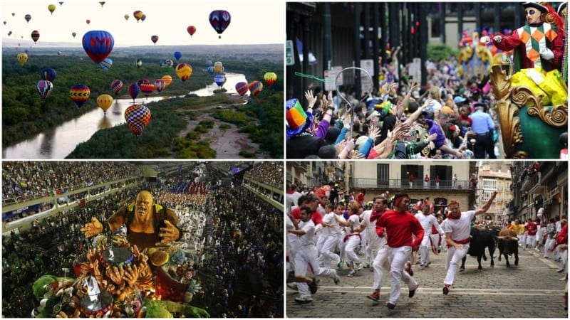 20 Amazing Festivals Around The World You Need To Visit Once In Your Life -top, festivals