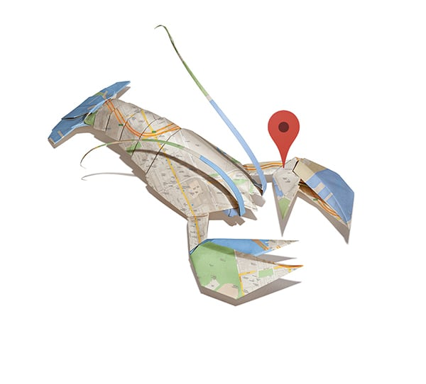 Google Maps Origami By Bakken Design -origami, maps, google