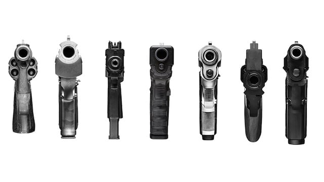 Bodyhammer – Drawings of Guns pointing at you by Robert ...