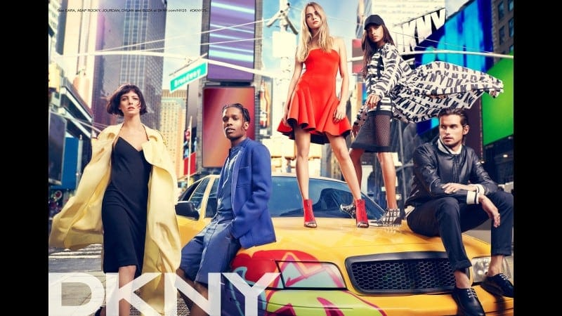 Cara Delevingne, A$AP Rocky and others for DKNY Advertising Campaign -top-model, singer, models, model, Cara Delevingne, advertising campaign