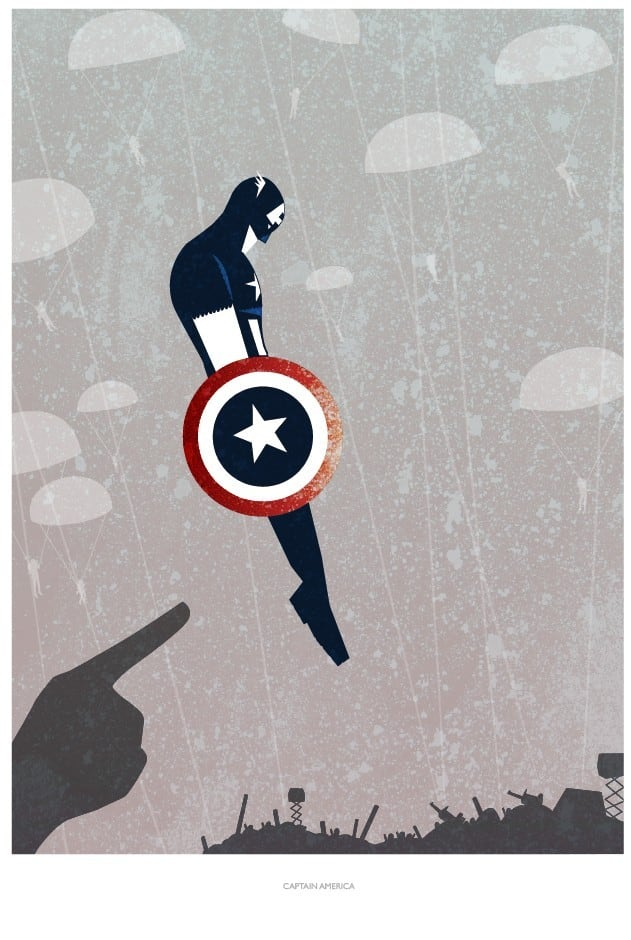Mod Comic Posters By RoganJosh -print, posters, comics