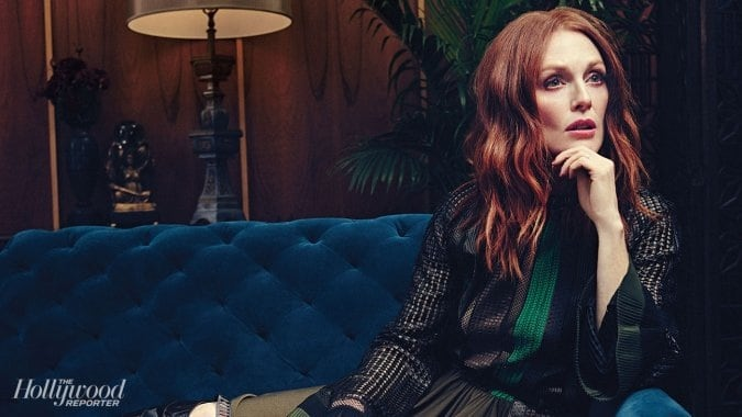 "Julianne Moore Covers ""The Hollywood Reporter"" Latest Issue -photo session, magazine, Hollywood"