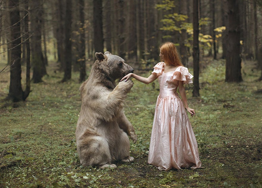 Russian Photographer Takes Stunningly Beautiful Photos With Real Animals -real, photography, nature, animals