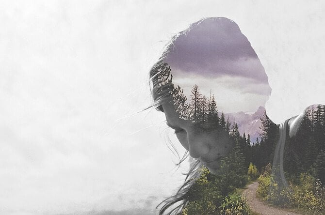 Soft Multiple Exposure Photographs By Luke Gram -landscape, Instagram, double exposure