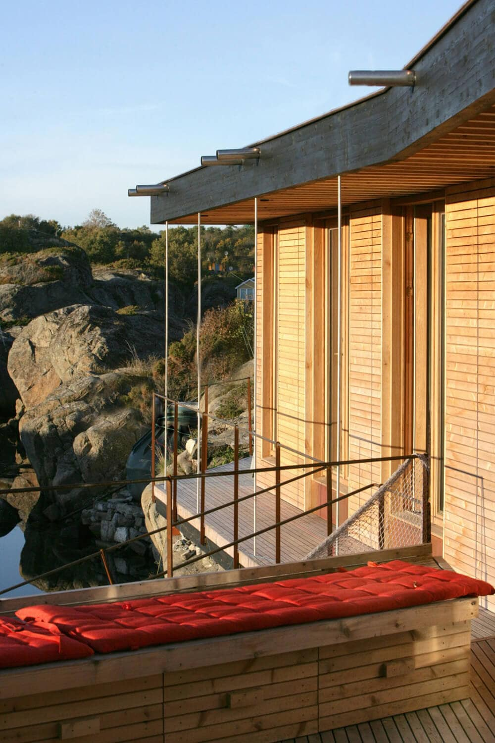 Glass-Walled House Placed in the Rocky Landscape of Norway -norway, house