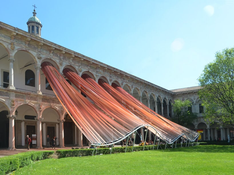 mad architects fy 9 - MAD architects' Dynamic Canopy Installation Draws Outward Alters Our Perception of Space