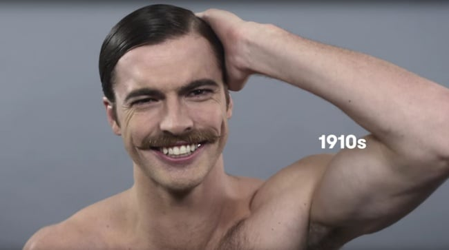 That's the standards of male the beauty has changed in the last 100 years -photos, beauty