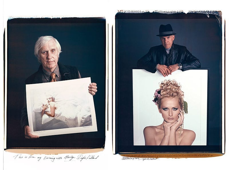 """Portraits of Portraits: """"Behind Photographs"""" by Tim Mantoani -portraits, photography, celebrities, book"""