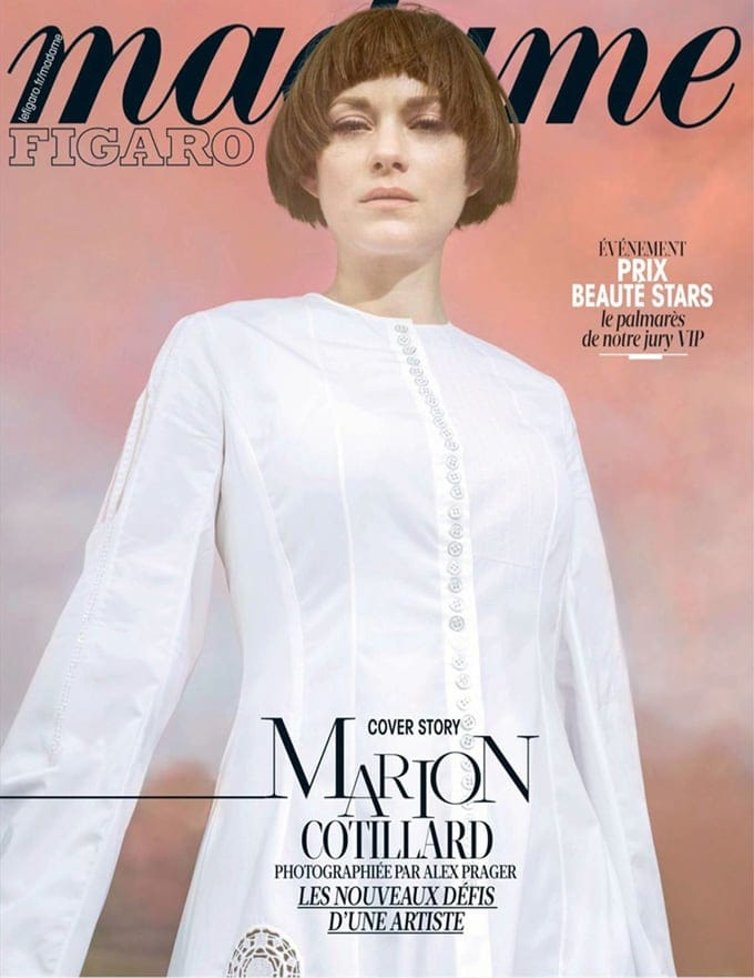 Marion Cotillard Covers Madame Figaro France February 2015 -photoshoot, Marion Cotillard, Madame Figaro