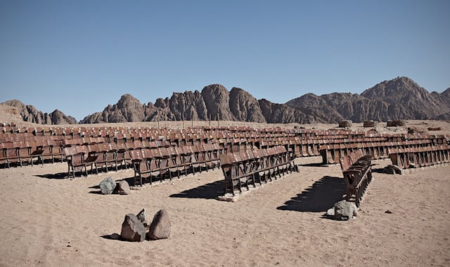 End Of The World Cinema – Abandoned Outdoor Movie Theater in the Desert of Sinai -