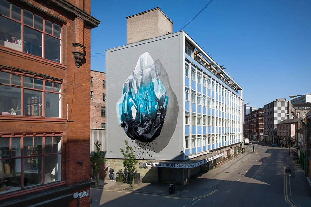 Murals by NEVERCREW Confront The Biggest Issues Facing Humanity -street art, murals, environment