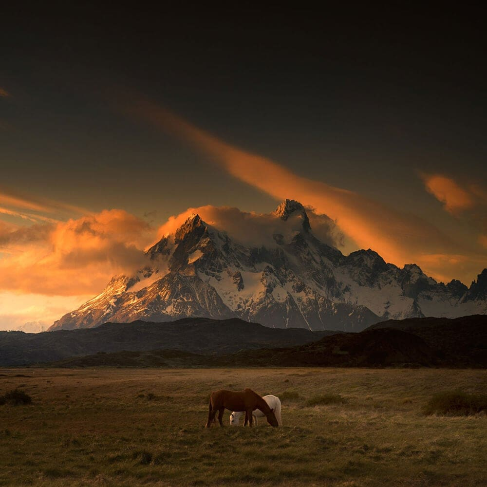 Wild Beauty of Patagonia by Andy Lee -mountains, landscapes