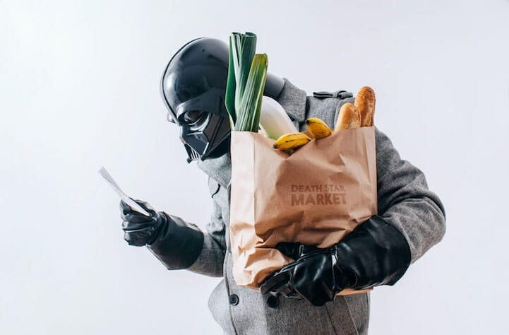 Polish Photographer Imagines Darth Vader with a Daily Routine like the Rest of Us -Star Wars, photo, darth vader