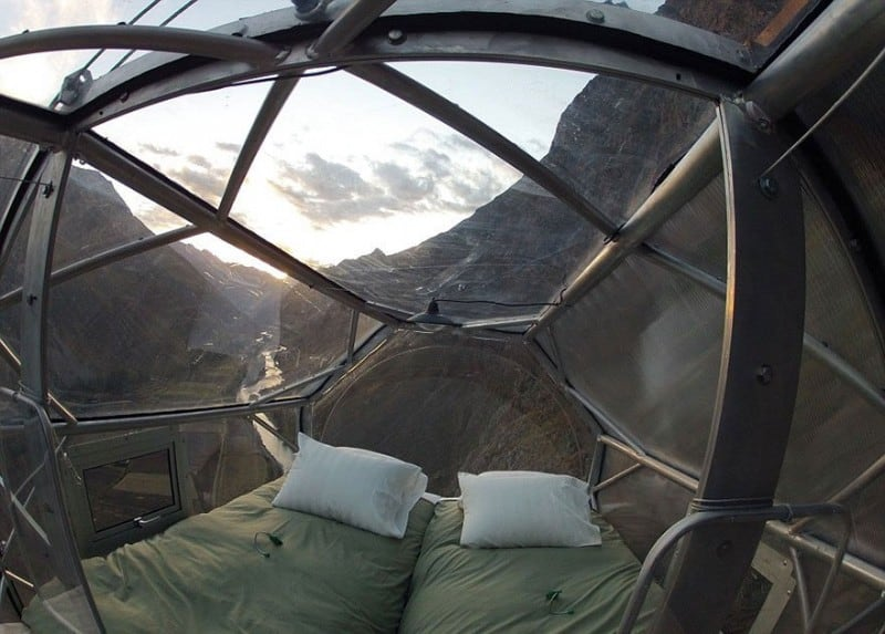Skylodge - Is Probably One Of The Most Terrifying Hotels You Have Ever Seen -mountain, hotel