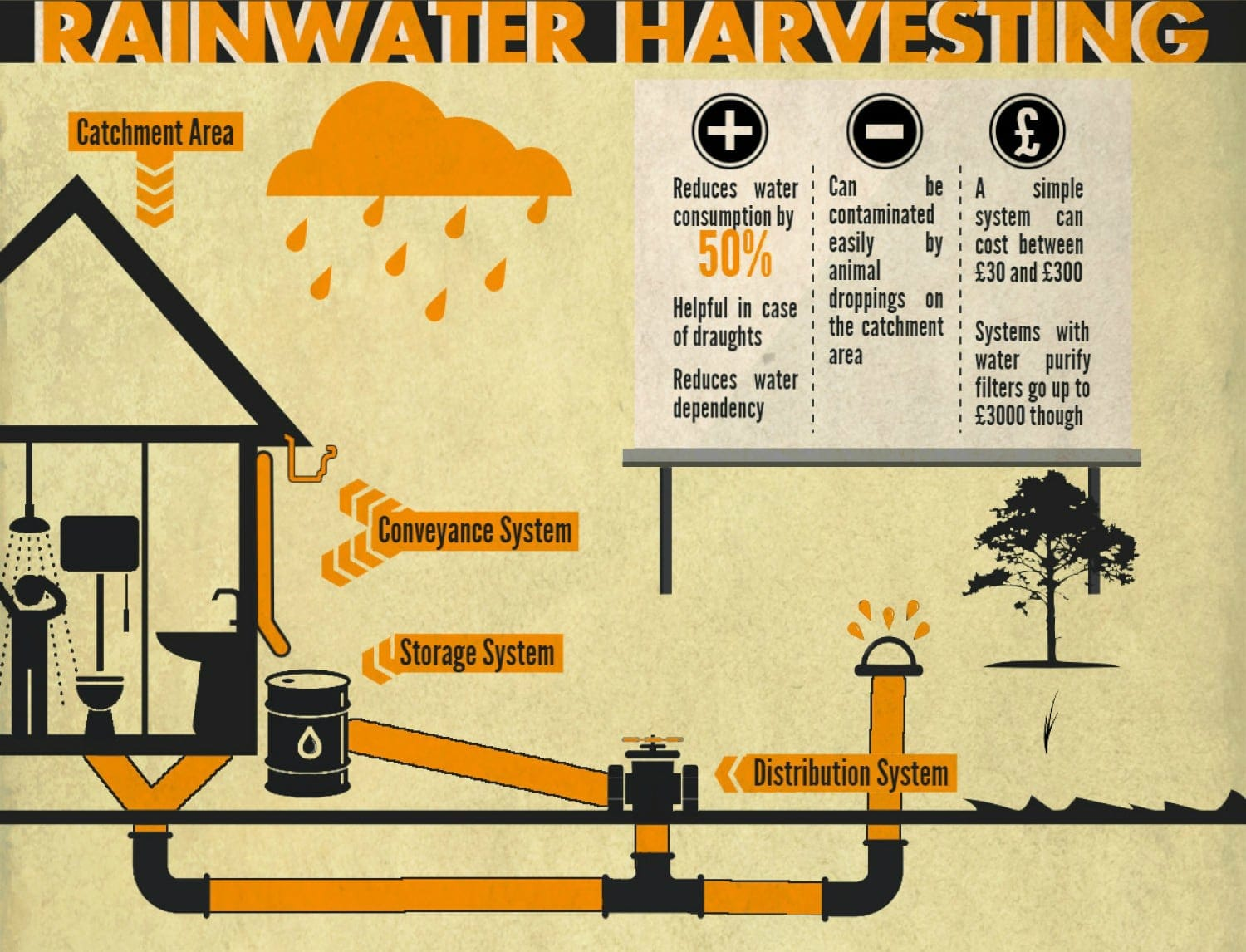 Infographic: How to Produce Water for Your Own Home -infographic