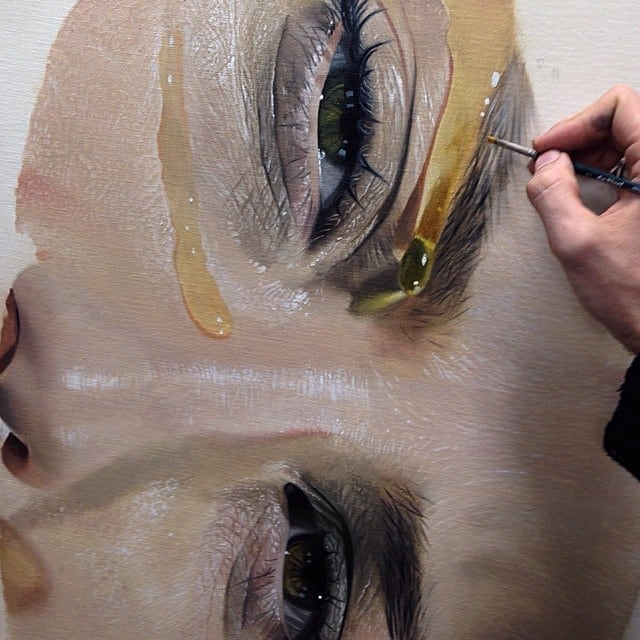 Hyperrealistic Paintings So Detailed You Can Taste The Honey -portraits, paintings, drawings, artist