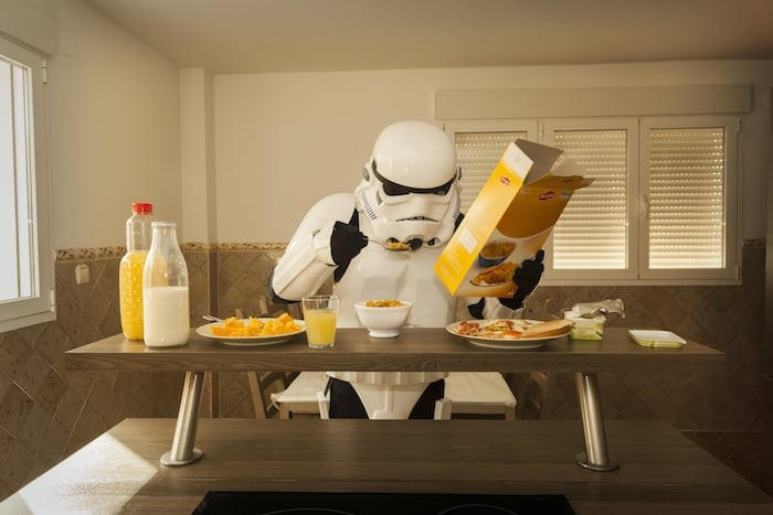 Photographer Imagines A Daily Routine Of An Imperial Stormtrooper -Star Wars, photo-series
