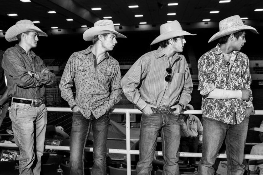 The Ride Of Their Lives: Photographer Captures America's Best Young Cowboys And Cowgirls -usa, horses, black n white