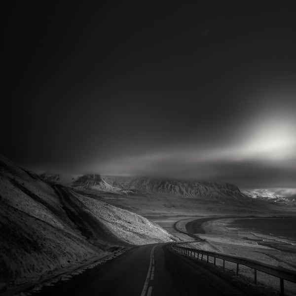 18 Astonishing Black N White Photographs By Andy Lee -mountains, landscapes, black and white