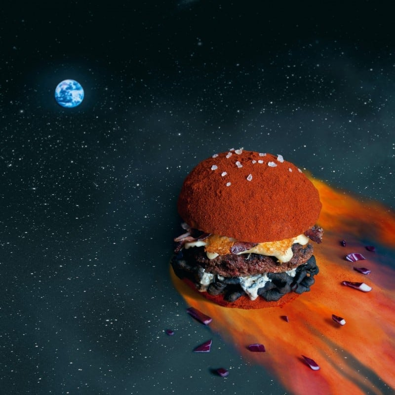 """Fat and Furious burger"" by Quentin and Thomas -tumblr, french, designer, blog"