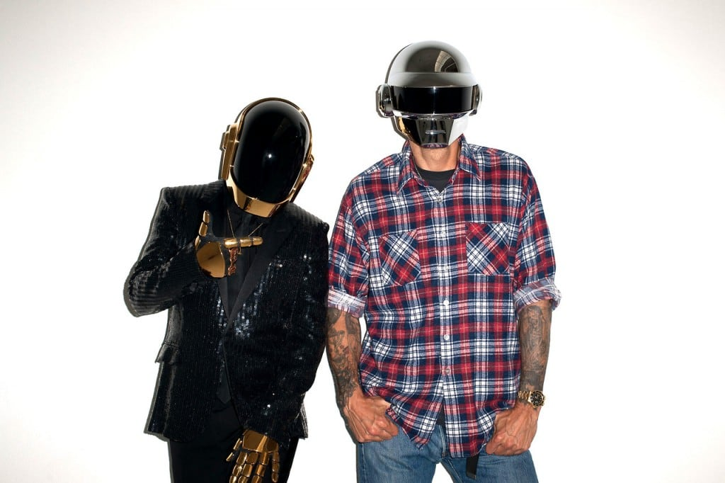 """""""Daft Punk"""" photosession by Terry Richardson -terry richardson, photoshoot, photographer, photo session, musicians, fashion-photographer, famous"""