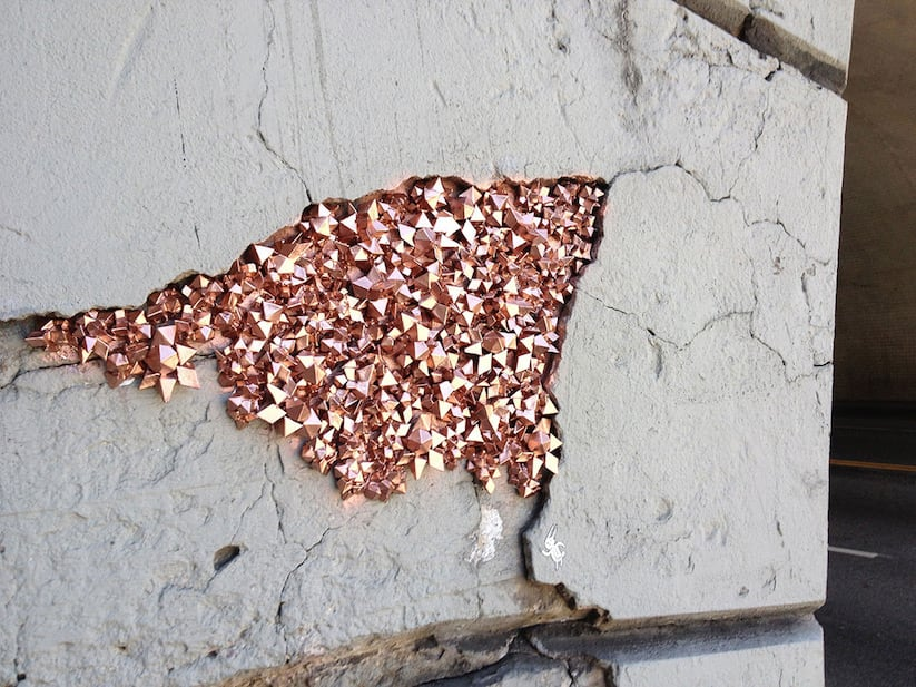 Urban Geodes – Crystalized Rock Formations around the Streets of L.A. by Paige Smith -streets, Los Angeles