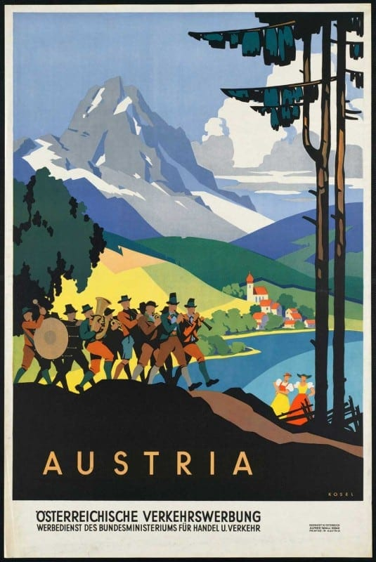 vintagePosters00 535x800 - 60 Beautiful Examples Of Vintage Travel Posters