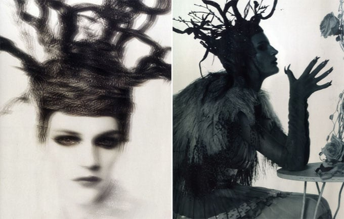 Vogue Italia February 2012 Cover | Laura Kampman by Steven Meisel -vogue Italia, surrealism, Steven Meisel
