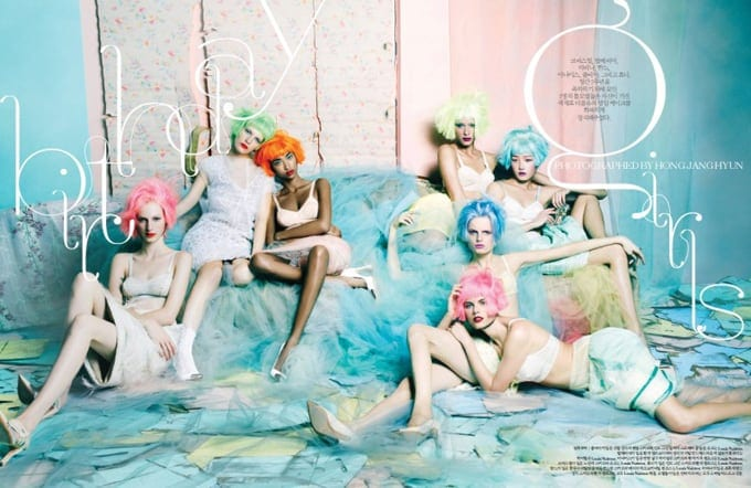 Candy Girls in W Korea -photo session
