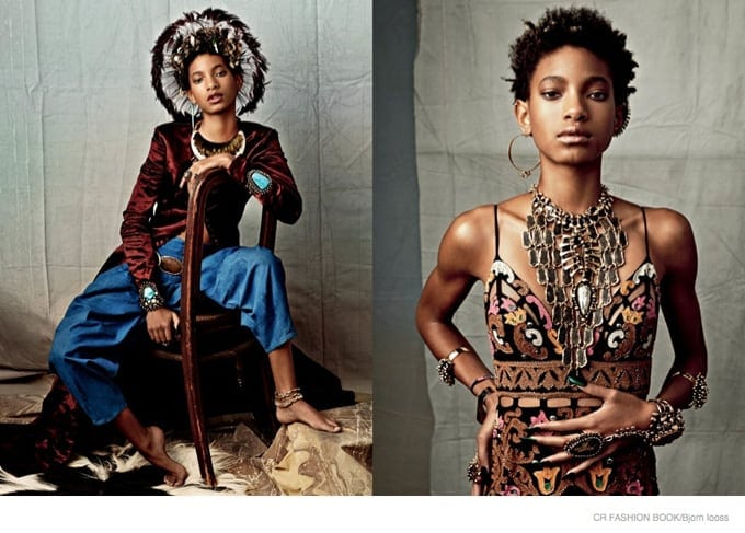 Willow Smith by Bjorn Iooss for CR Fashion Book Issue 6 -photography, photographer, photo session, models
