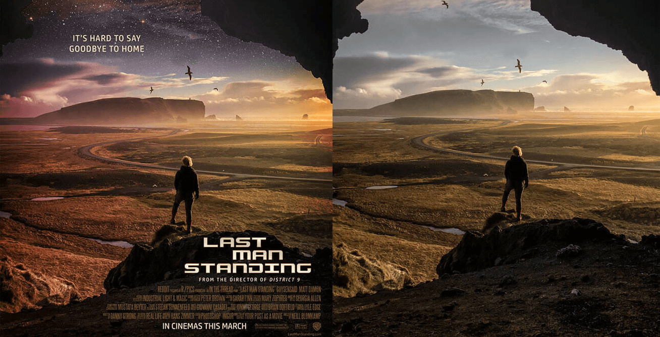 Redditor Transforms Photos Into Striking Movie Posters -reddit, posters, movie