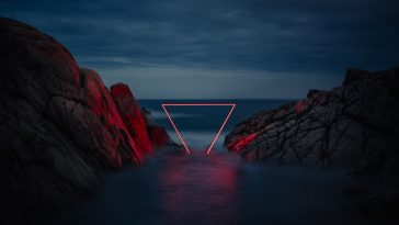 Geometric Light Installations by Nicolas Rivals -spain, light, landscapes, gotrend, geometric
