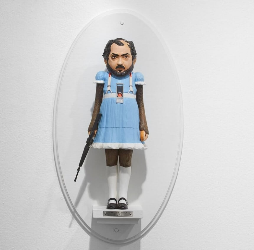 Artist Combines Famous Directors with Their Most Iconic Characters -sculpture, pop-art, gotrend