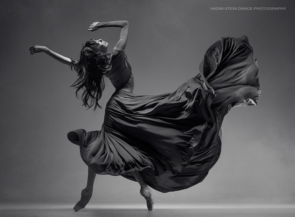Astonishing black white in motion photos of dancers by vadim stein freeyork