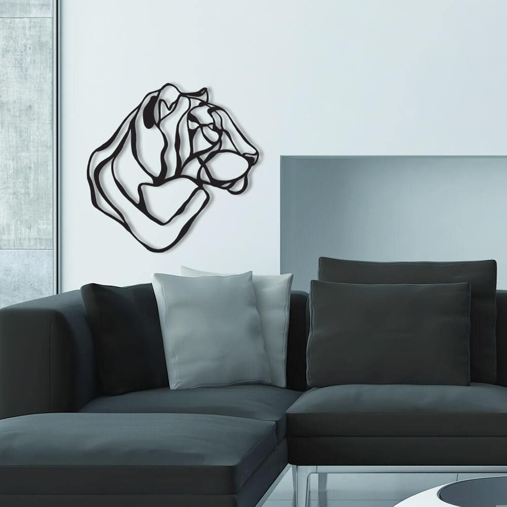 3d animal wall signs 1 - Unusual 3D Animal Wall Signs by Tes-Ted