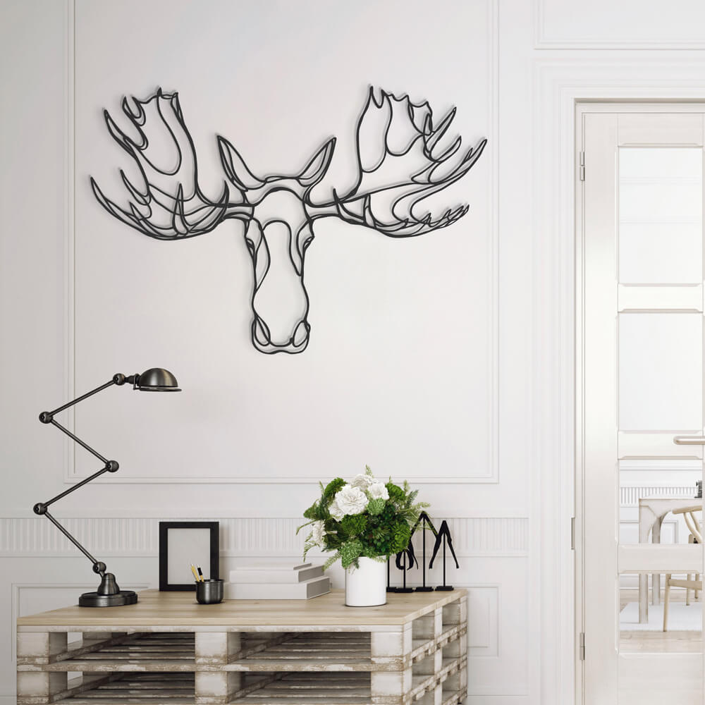 3d animal wall signs 10 - Unusual 3D Animal Wall Signs by Tes-Ted
