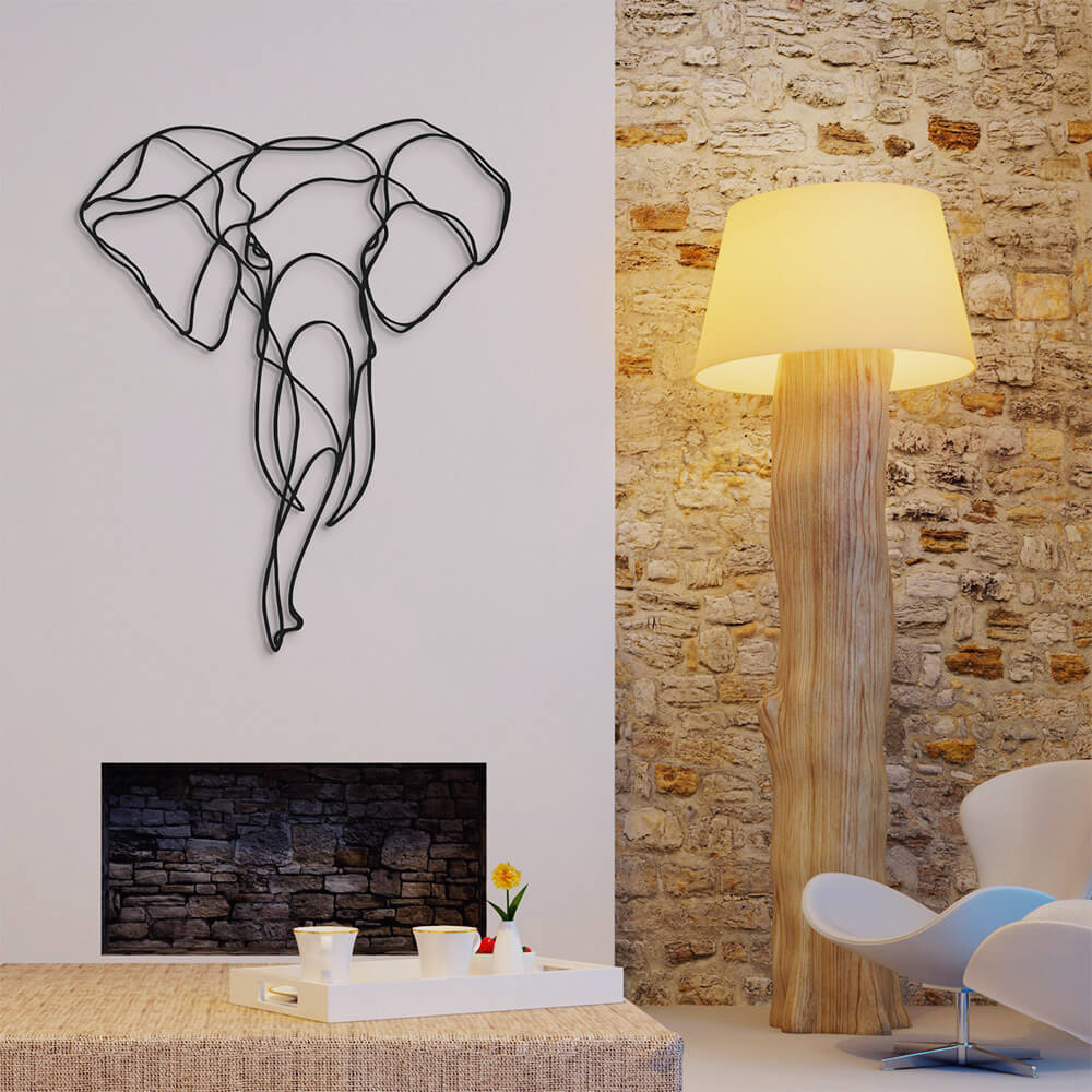 3d animal wall signs 13 - Unusual 3D Animal Wall Signs by Tes-Ted
