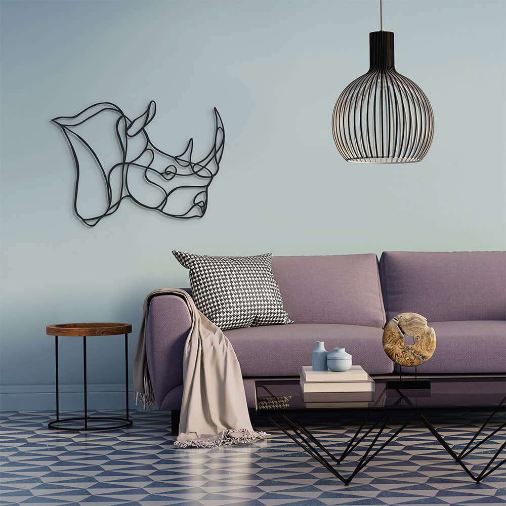 3d animal wall signs 3 - Unusual 3D Animal Wall Signs by Tes-Ted