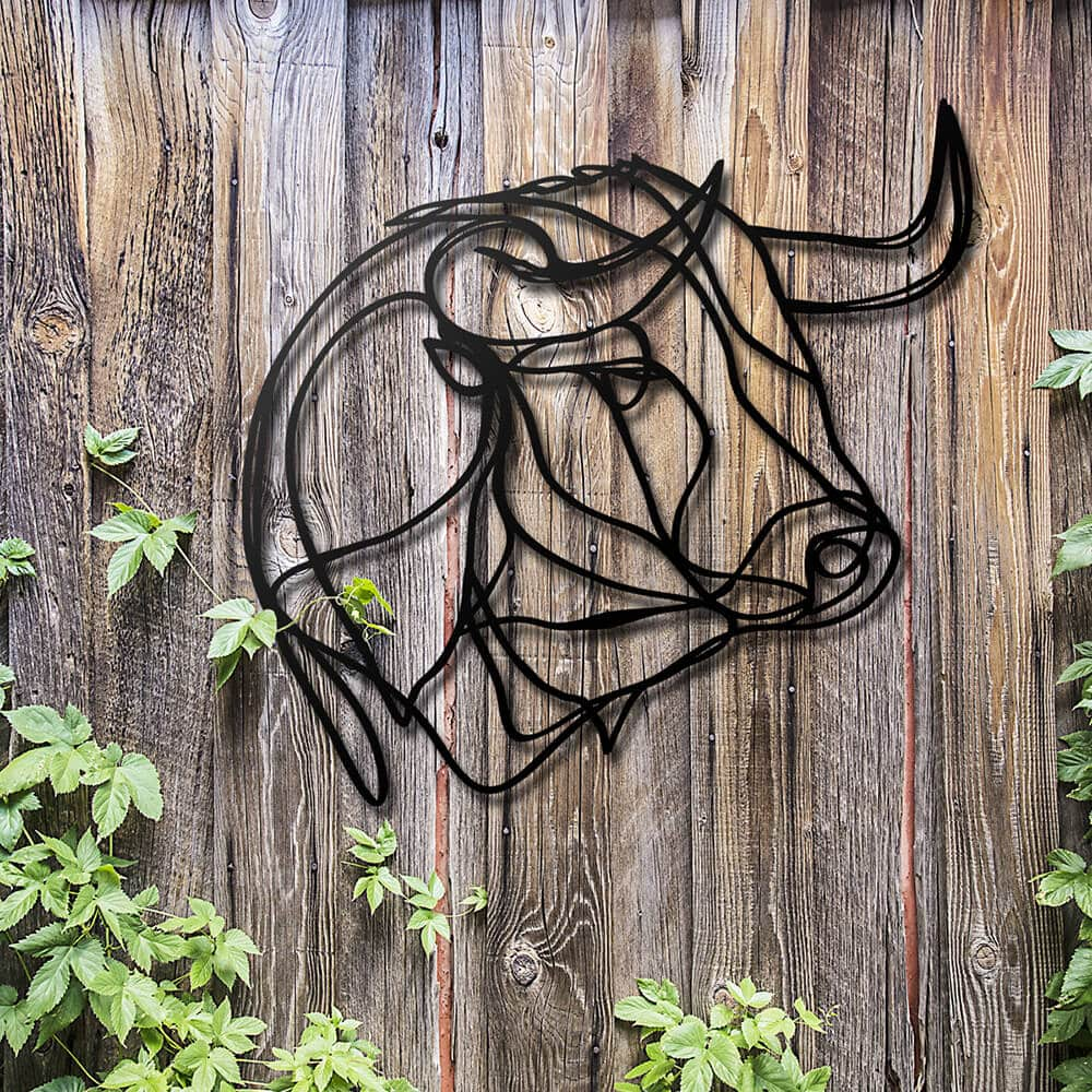 3d animal wall signs 9 - Unusual 3D Animal Wall Signs by Tes-Ted