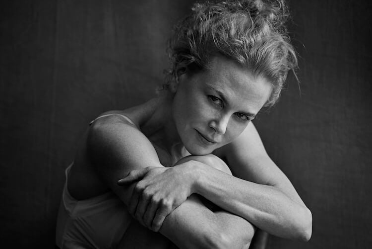 2017 Pirelli Calendar Shows the True Beauty of Favorite Actresses -portraits, photography, photo session, Peter Lindbergh, celebrities, black n white