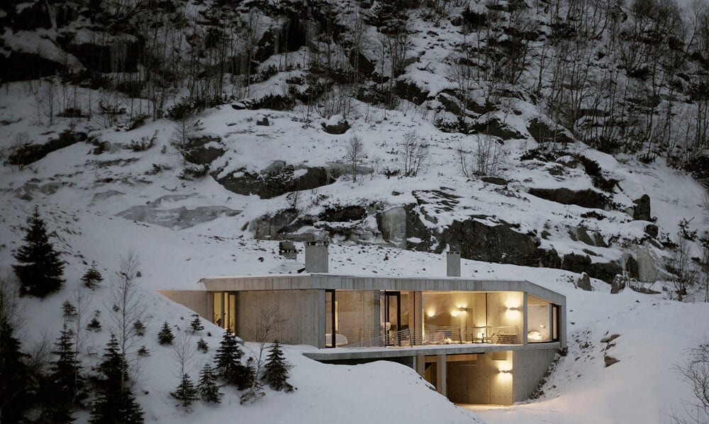 Ideal Getaway In Ultra-Modern House by Filter Arkitekter -villa, norway, mountains, house