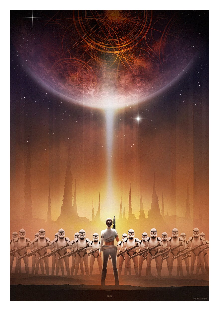 Star Wars Perspectives by Andy Fairhurst -Star Wars, posters