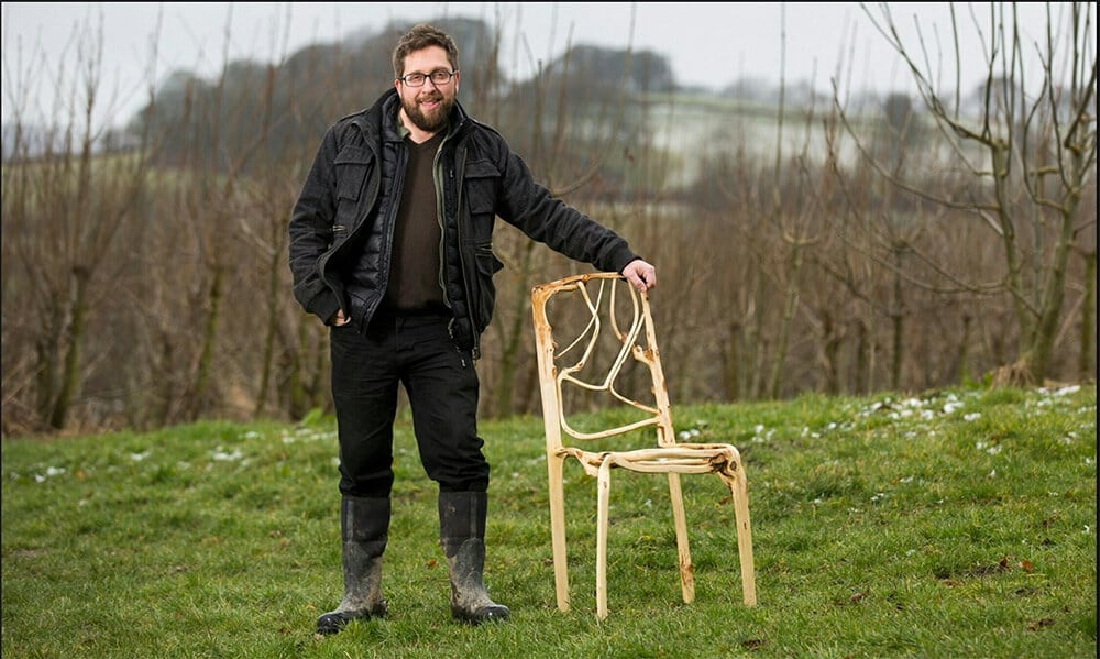 Artist Gavin Munro Grows Trees into Furniture -wood, trees, furniture, chairs