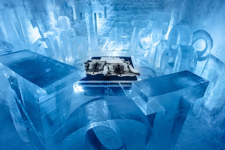 Sweden's First ICEHOTEL 365 Opens -sweden, ice, hotel